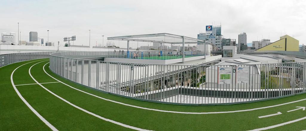 大阪市内の人気ランニングコース(ヘルスエイドトラック中央区)