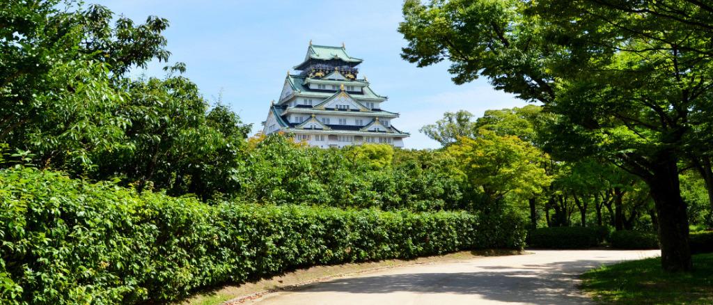 大阪市内の人気ランニングコース(大阪城公園)